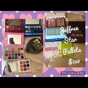 5 Jeffree Star Palettes